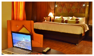 Amer Hotel Lahore Room with facilities