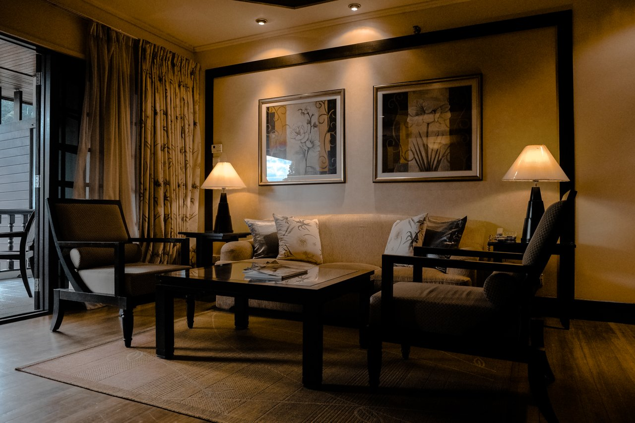 The clean ambiance in With Six Sigma applied hotel