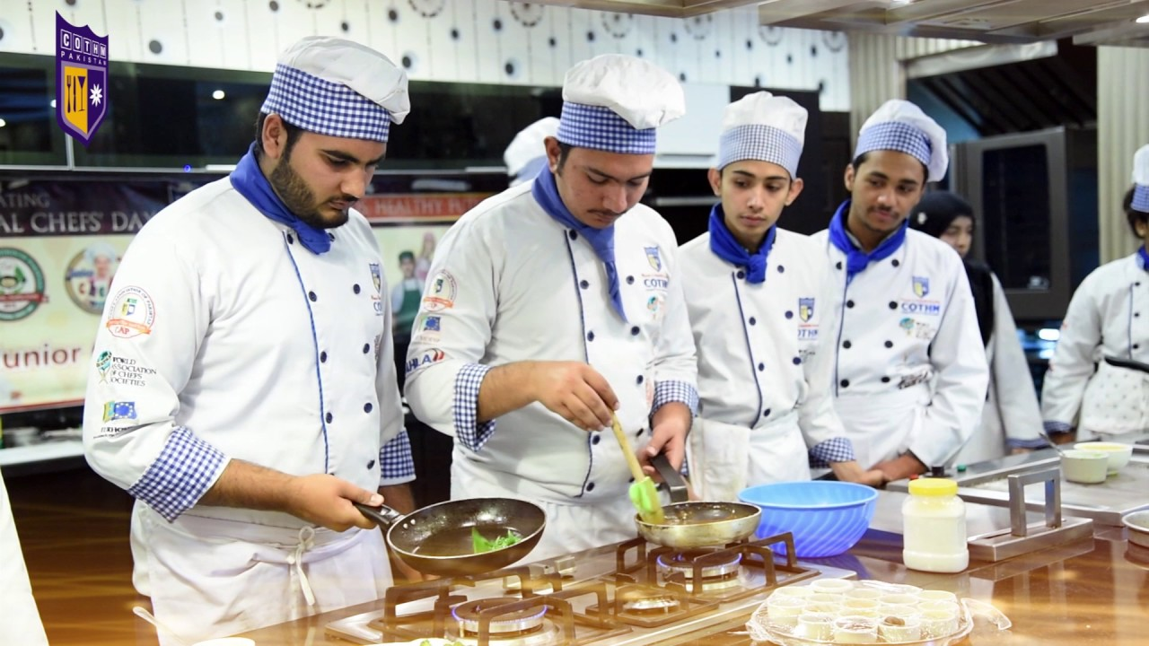 COTHM Pakistan Chefs in action