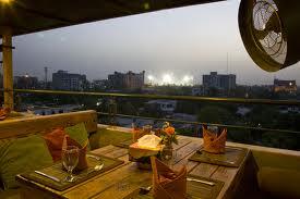 Maisonette Hotel Lahore outside view of city Lahore