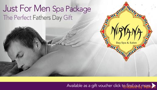 Nirvana Spa Salon Lahore Poster for men