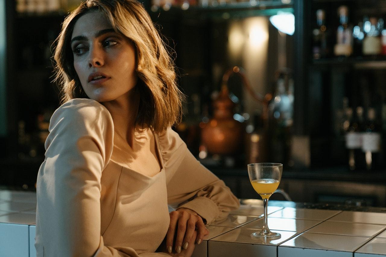 ENFP Woman at a bar