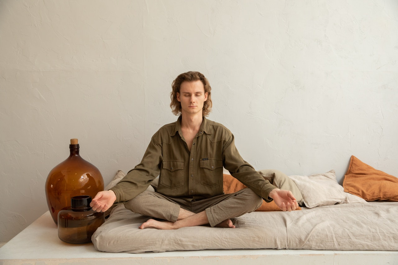 ENFP Man in a yoga