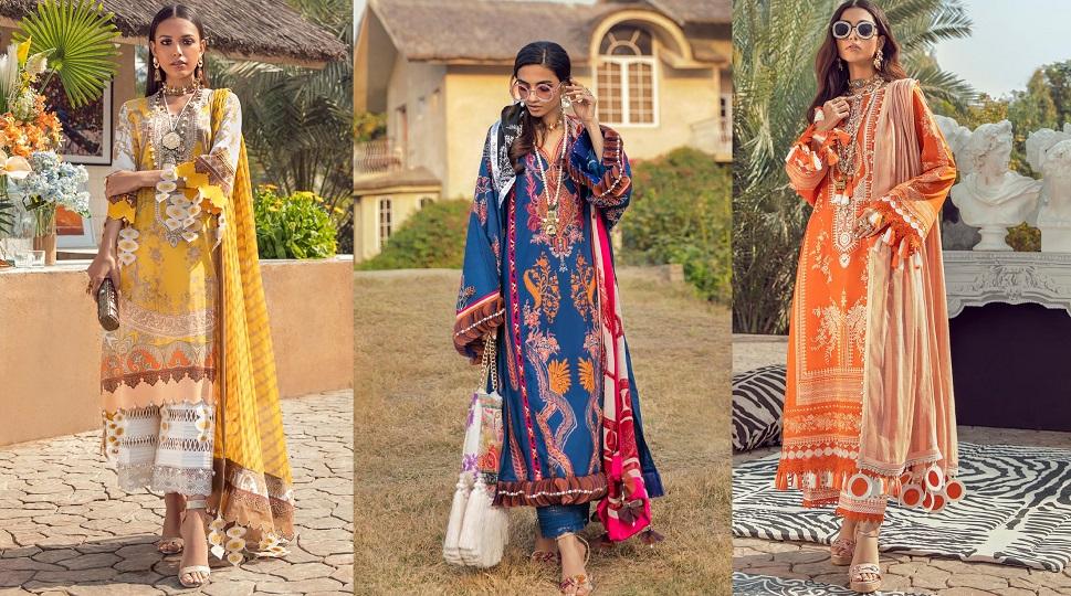 Sana Safinaz Lawn Collection 2021