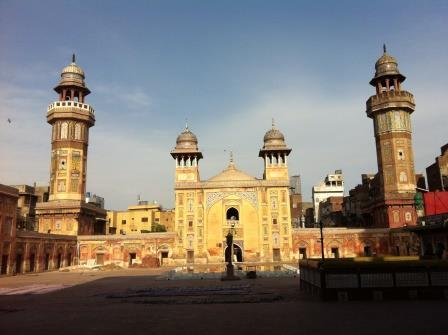Wazir Khan Mosque front view