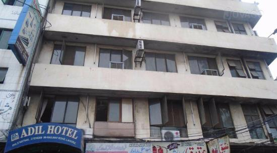 Adil Hotel Lahore Front Elevation