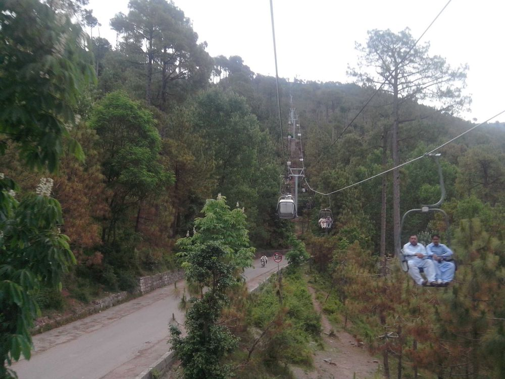 Murree Chairlift for Murree Real Estate Attraction