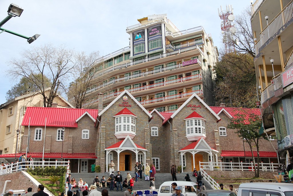Murree Real Estate showing GPO & Hotels